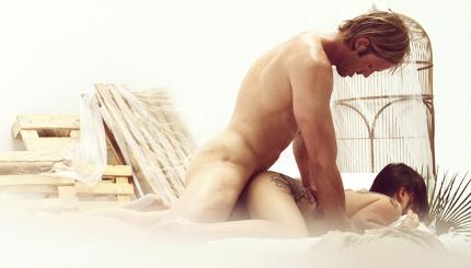 sex beim friseur sie knebelt ihn