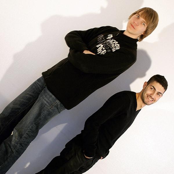 Patrick Amelung und Ahmad Hassanein (Foto: Asmira Suljic)